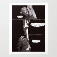 burdge Art Prints featuring A one-way trip by Burdge