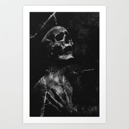 To the right way Art Print