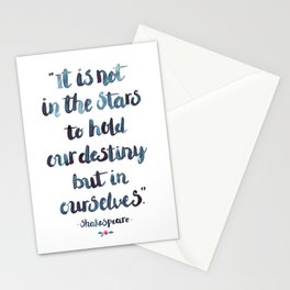 Shakespeare Quote Stationery Cards