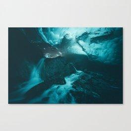 Beneath The Mendenhall Canvas Print