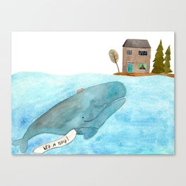 It´s a boy Canvas Print