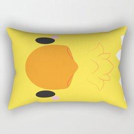 Yellow Chocobo Block Rectangular Pillow