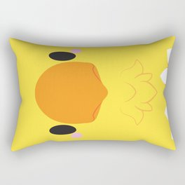 Yellow Chocobo Block Rectangular Pillow