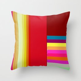 Re-Created  Parquet 1 by Robert S. Lee Throw Pillow