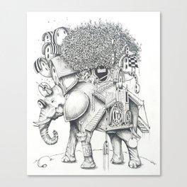 ELEFANTILANDIA Canvas Print