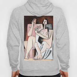 Pablo Picasso, Homme et Femme 1921 Artwork for Wall Art, Prints, Posters, Tshirts, Men, Women, Kids Hoody