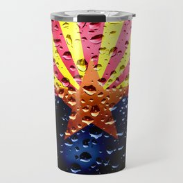 Flag of Arizona - Raindrops Travel Mug
