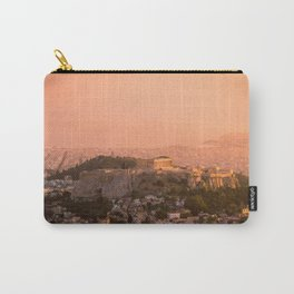 Sunset over Athens Carry-All Pouch