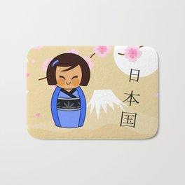 Kokeshi Mizuki Bath Mat