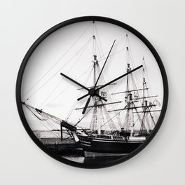 Tallship Wall Clock