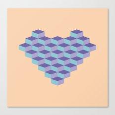 Blocs Canvas Print