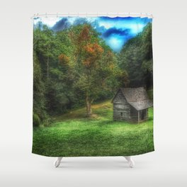 Cabin on the Parkway Shower Curtain