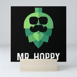 Mr. Hoppy - Beer Mini Art Print