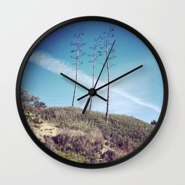 San Clemente Trees Wall Clock