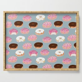Sweet Donuts pattern Serving Tray