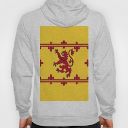 RED LION & YELLOW ROYAL BANNER OF SCOTLAND Hoody