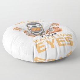 Welder Floor Pillow