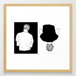 Isak & Even | Two Pieces Framed Art Print