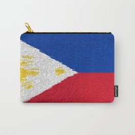 Extruded flag of the Philippines Carry-All Pouch