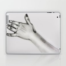 lady's hand Laptop & iPad Skin