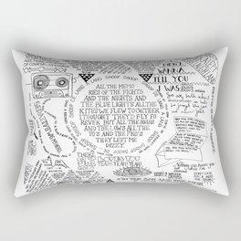 Life is a Mixtape Rectangular Pillow