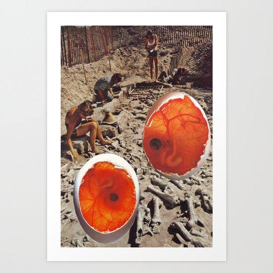 Collage #48 Art Print