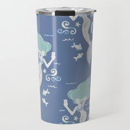 Mermaid Selfie Travel Mug