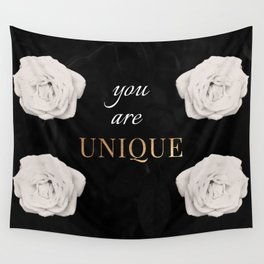 You Are Unique Wall Tapestry