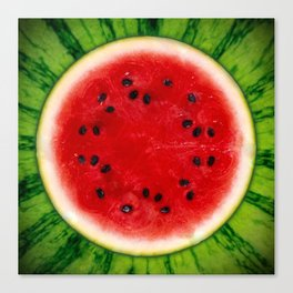 Watermelon <3 Canvas Print
