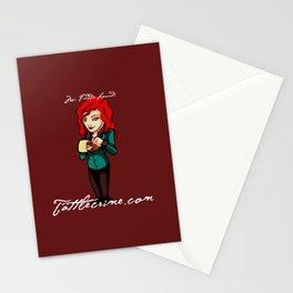 Freddie Lounds: Tattle-Crime.com Stationery Cards