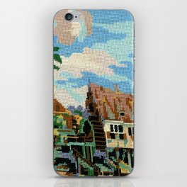 Found Tapestry Mill iPhone Skin