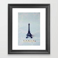 A Word about Paris  Framed Art Print