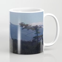 Snow Cap Mountains Coffee Mug