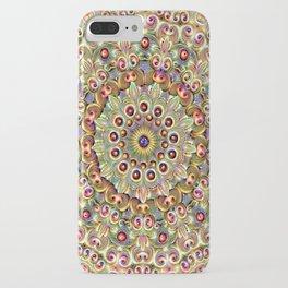 Peacock Mandala iPhone Case