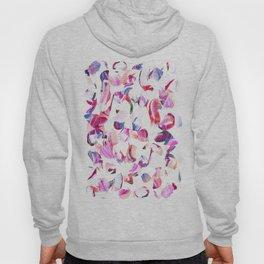 Graffiti Pink and blue Brush stroke pattern Hoody