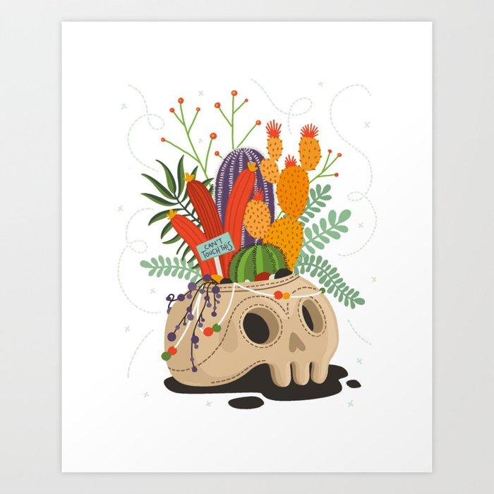 Crazy Plant Lady Art Print
