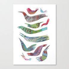 oiseaux Canvas Print
