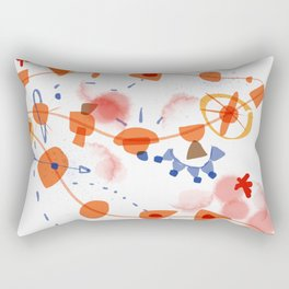 connected | The true nature of life: We are all connected, lets not forget Rectangular Pillow