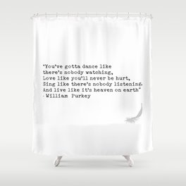 Quotes 5 Shower Curtain