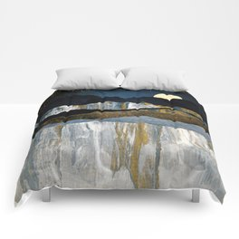 Painted Mountains Comforters