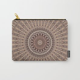 Cappuccino mandala Carry-All Pouch
