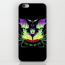 Maleficent iPhone Skin