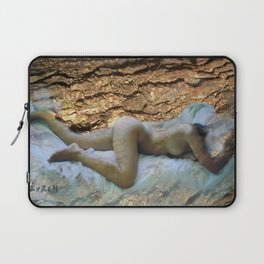 Nude on sheets Laptop Sleeve