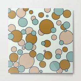 Floating Bubbles Metal Print