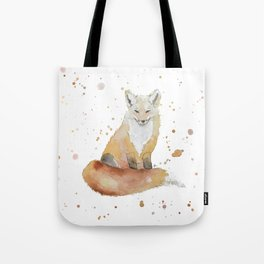The Wise Fox Tote Bag