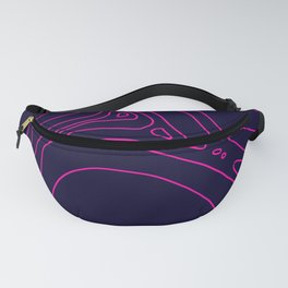 Pink Neon Fanny Pack