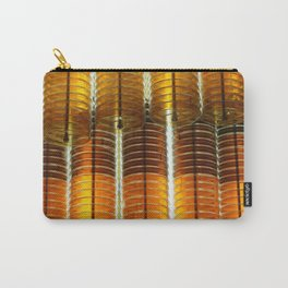 Yellow Glass Carry-All Pouch