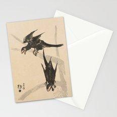 Microraptors Stationery Cards