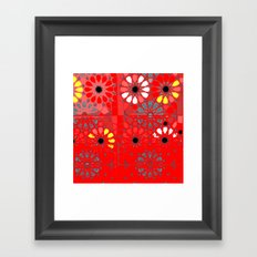 red tunisia Framed Art Print