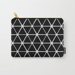 HEX - black & white minimalist design Carry-All Pouch